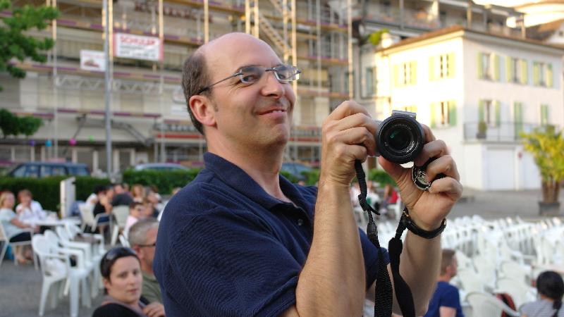 Roland der rasende Fotograf!