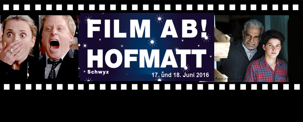 Film ab! Hofmatt  17. und 18. Juni 2016: Death at a funeral und Monsieur Ibrahim et les fleurs du coran