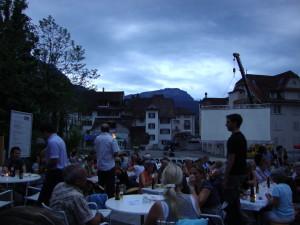 Abendstimmung auf der Hofmatt, Schwyz
